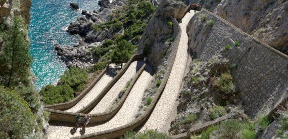 la Scala Fenicia di Capri