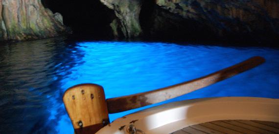 come arrivare alla Grotta azzurra