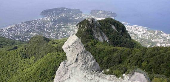 itinerari Ischia: l'isola verde