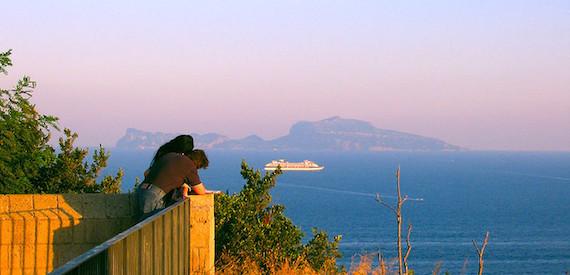Capri posti romantici