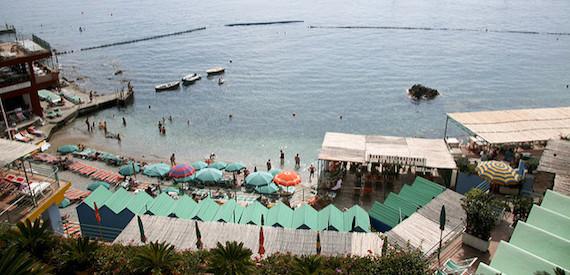 spiagge per bambini Capri