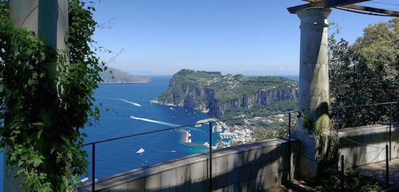 la storia di Capri