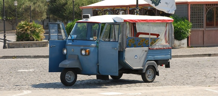 le carrozzelle di Ischia