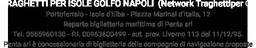 Traghetti per Isole del Golfo di Napoli