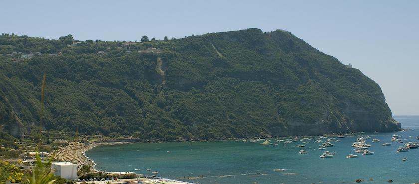le spiagge del comune di Forio