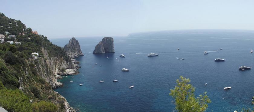 porti per le isole del Golfo e la costiera amalfitana