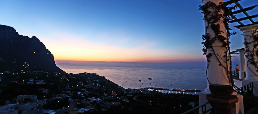 San Lorenzo 2017 al porto di Marina Grande Capri