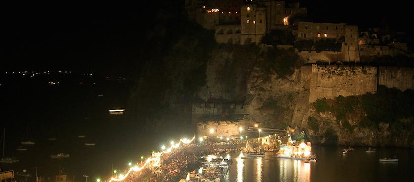 Festa a mare agli scogli di Sant'Anna