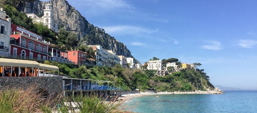 Capri spiagge libere