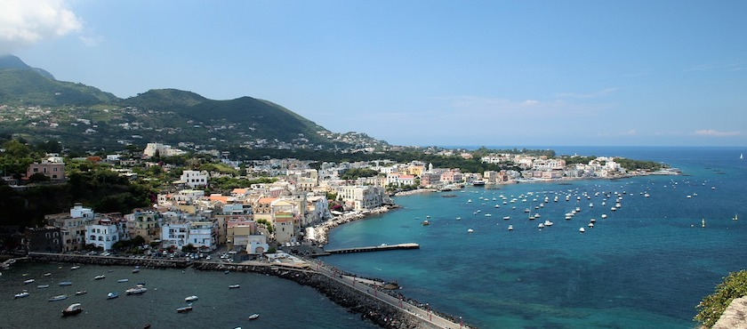 arrivare a Ischia da Salerno