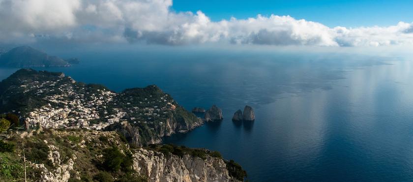 itinerario Golfo di Napoli