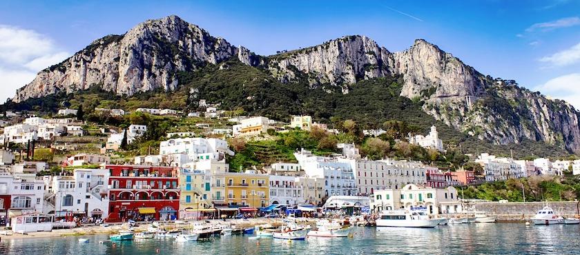 traghetti Capri bagaglio