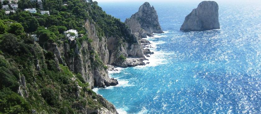 Capri in estate