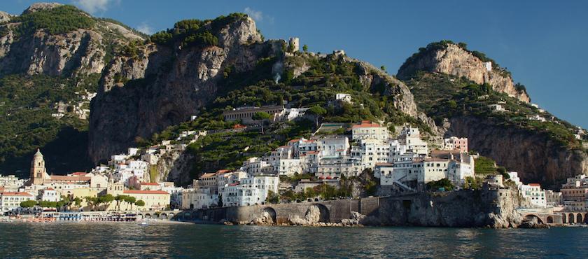 Come arrivare ad Amalfi – la statale 163 le foto e leggi i ...